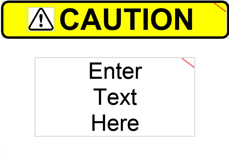 3X2 CAUTION LABEL