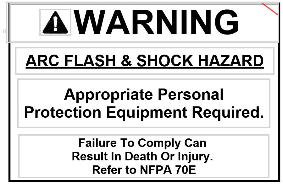 Arc Flash 2 inch 230
