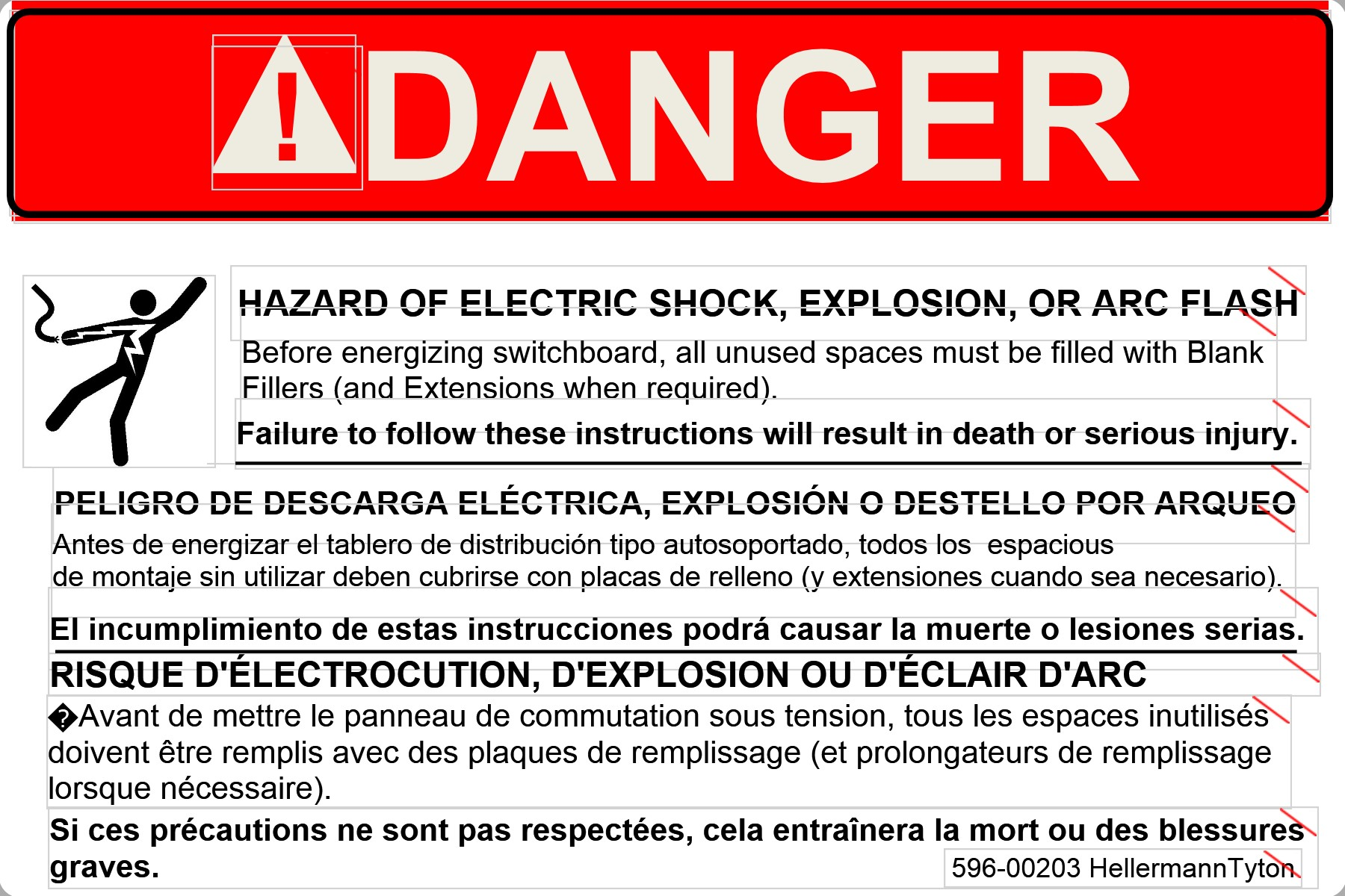 Danger Sign Example